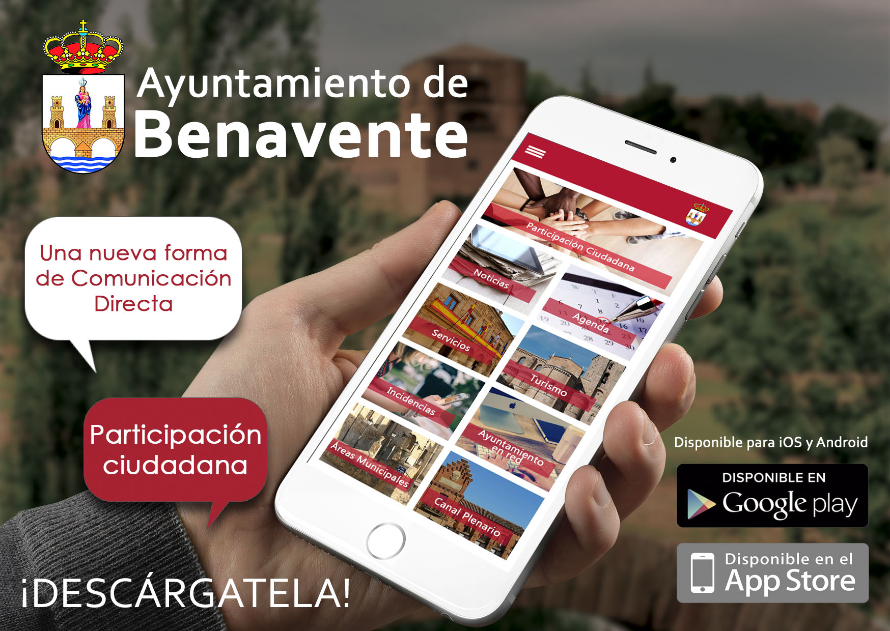 Imágen Ya Disponible App Ayto
